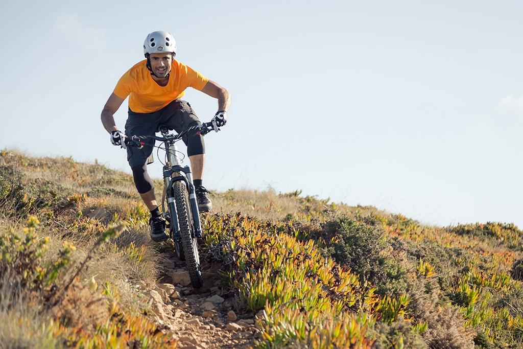 Mountainbike Stubaital - Traumrevier mit Blick auf den Habicht