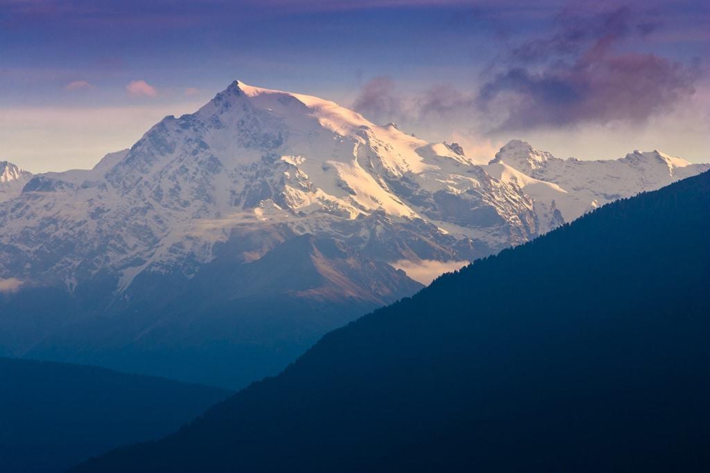 Ortler - Blick auf den höchsten Gipfel Italiens