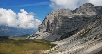 Wandern durch die Brenta Dolomiten