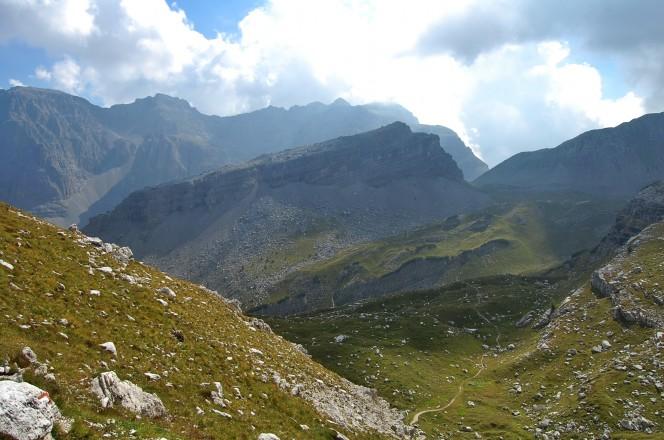 Wanderung in den Brenta Dolomiten