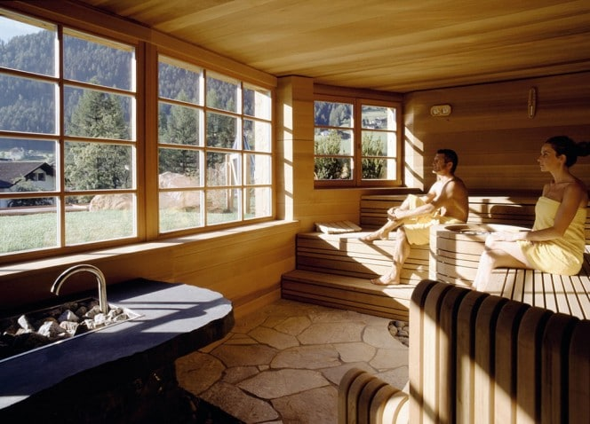Adler Dolomit Sauna