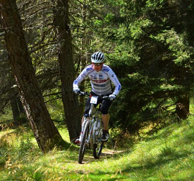 Mountainbiken in der Valgasuna