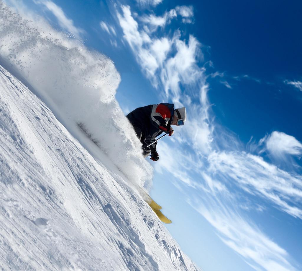 Skifahren auf dem Stubaier Gletscher