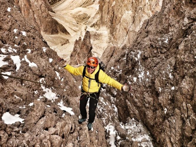 Fünffingerspitze Grödener Dolomiten