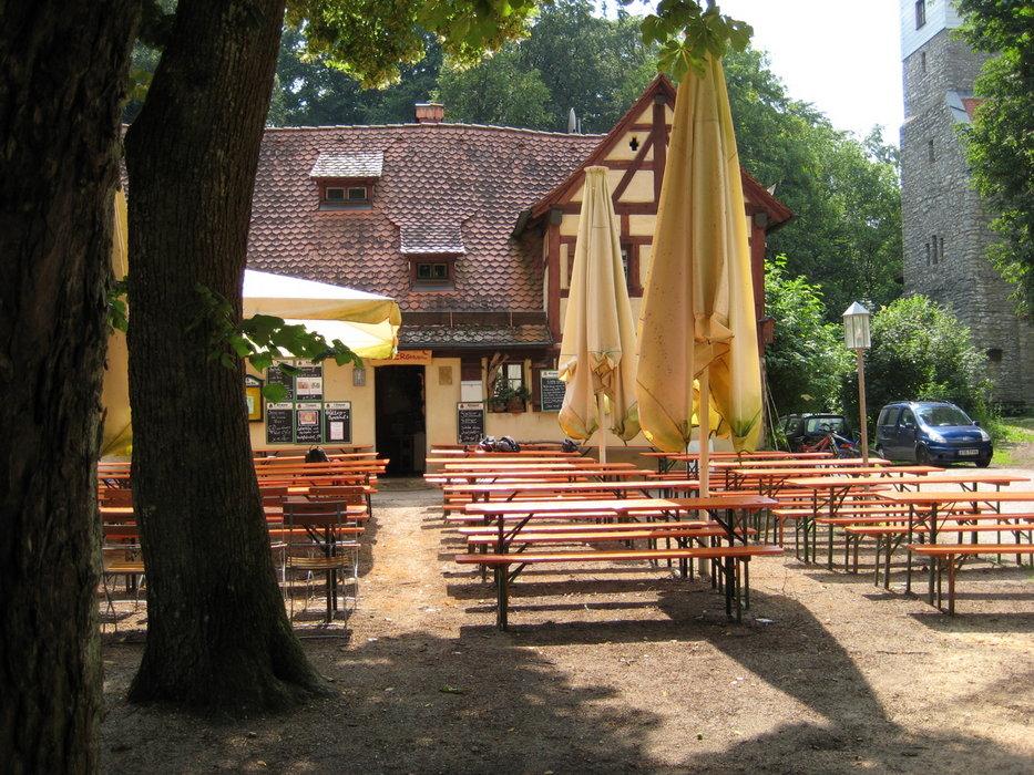 Wandern in Franken: Berggasthof Moritzberg