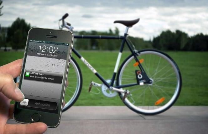 Lock 8 (c): Diebstahlsicherung mit Smartphone Unterstützung