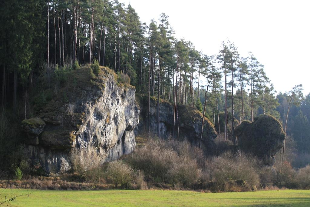 Fränkischer Gebirgsweg bei Krögelstein
