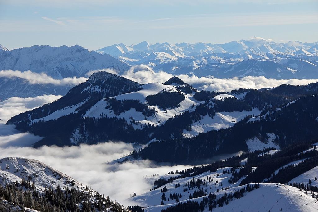 Wendelstein: Beeindruckende Gipfelschau in die Alpen