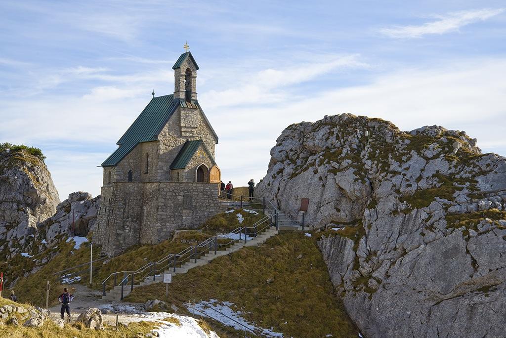 Wendelstein: Die Gipfelkirche, Deutschlands höchste Kirche