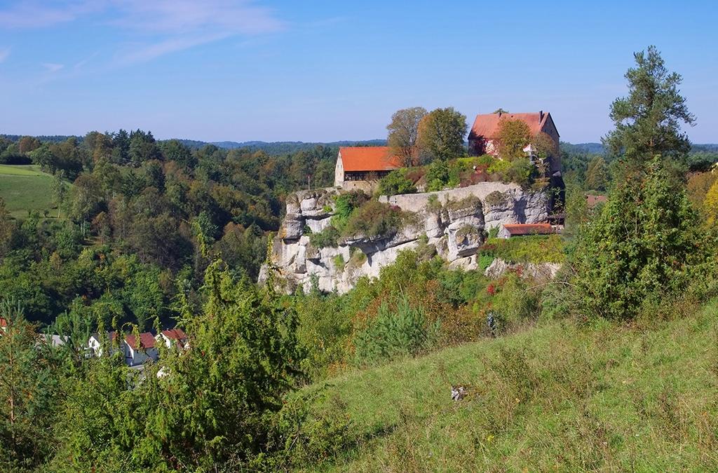 Schloss Pottenstein in der Fränkischen Schweiz