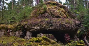 Lochsteine im Veldensteiner Forst