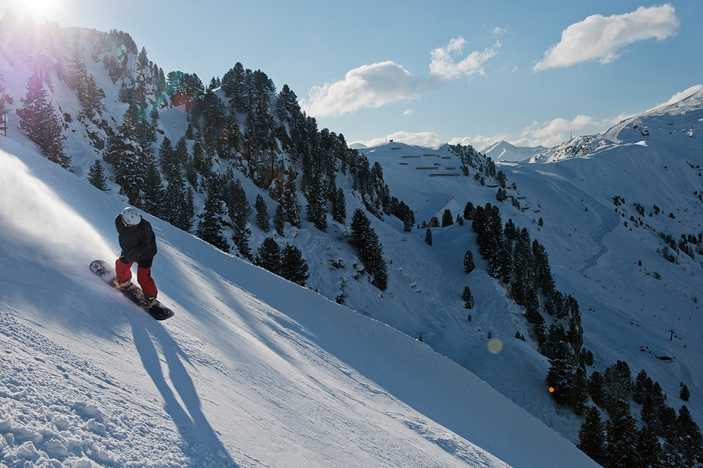Mayrhofen (c): Die Harakiri  Skipiste