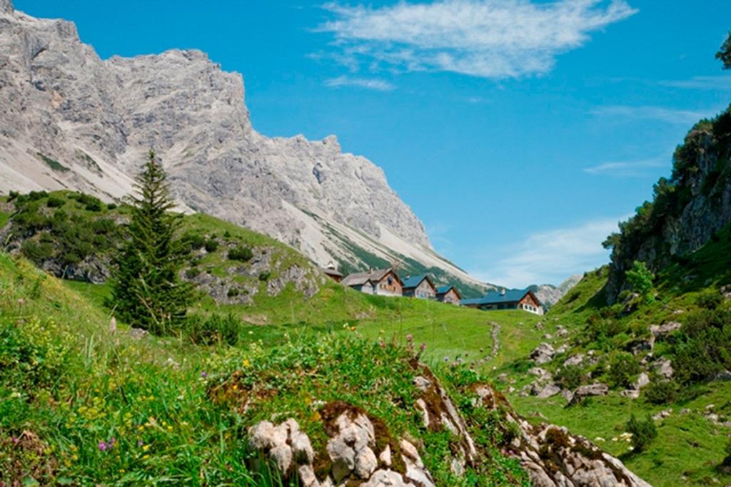 Klesenza Alpe in der Alpenregion Bludenz