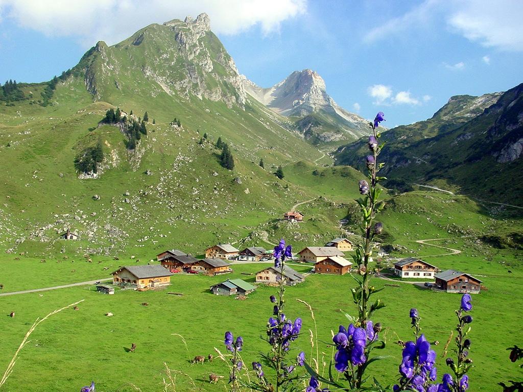 Alpenwanderung im Walsertal bei Bludenz