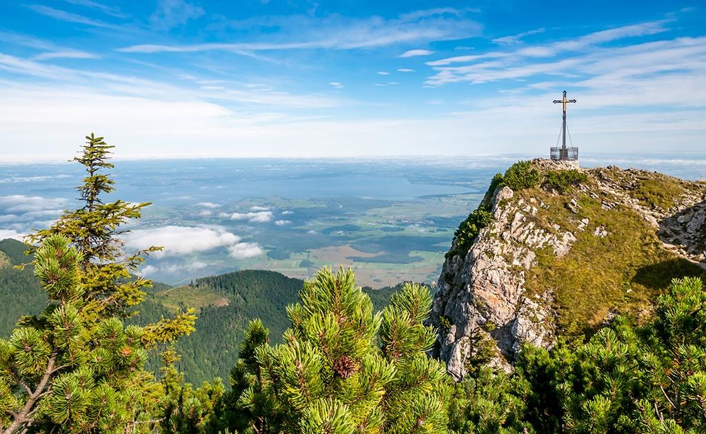Die Bayerischen Alpen: Wandern, Mountainbike oder einfach Urlaub - ein Traumrevier