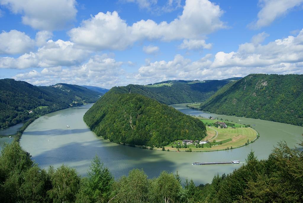 Wandern an der Donau