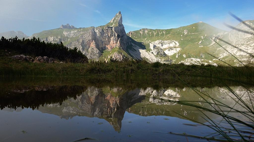 Traumhaftes Bergpanorama in Tirol am Achensee