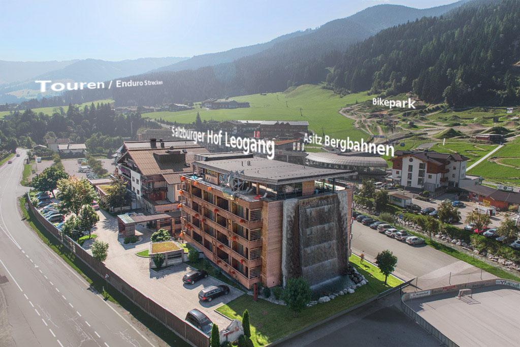 Salzburger Hof: Alle Sportangebote sind direkt vom Hotel aus erreichbar
