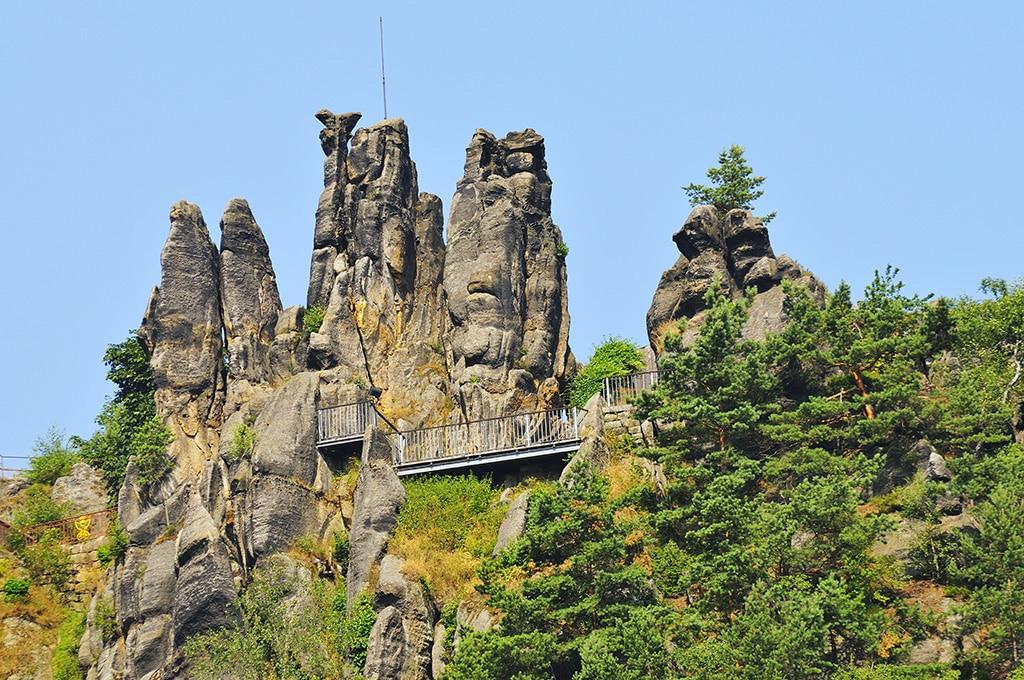 Die Sächsische Schweiz: Eldorado nicht nur für Kletterer