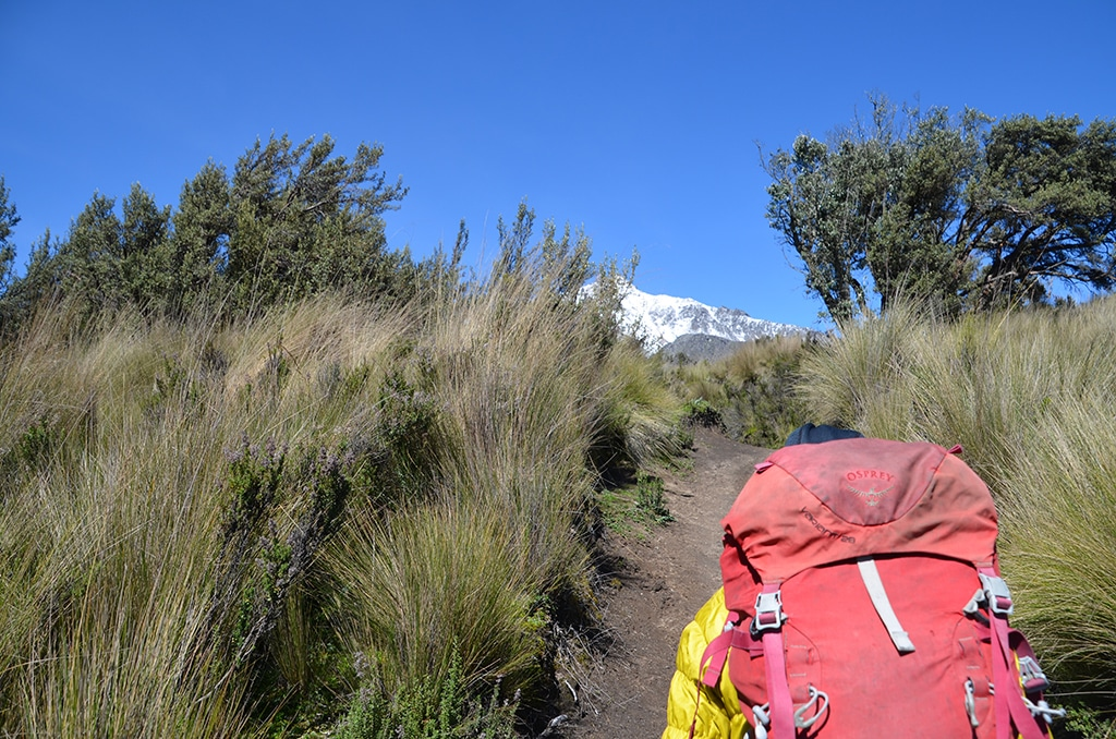 Illinizas Norte Besteigung: Aufstieg zur Hütte