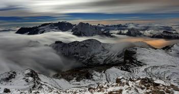 Marmolada - Blick auf die Königin der Dolomiten