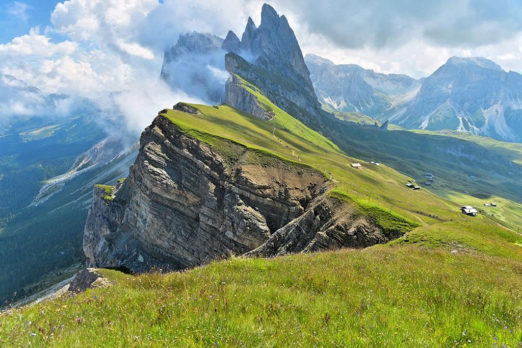 Steinberg am Rofan: Das Rofangebirge in Tirol