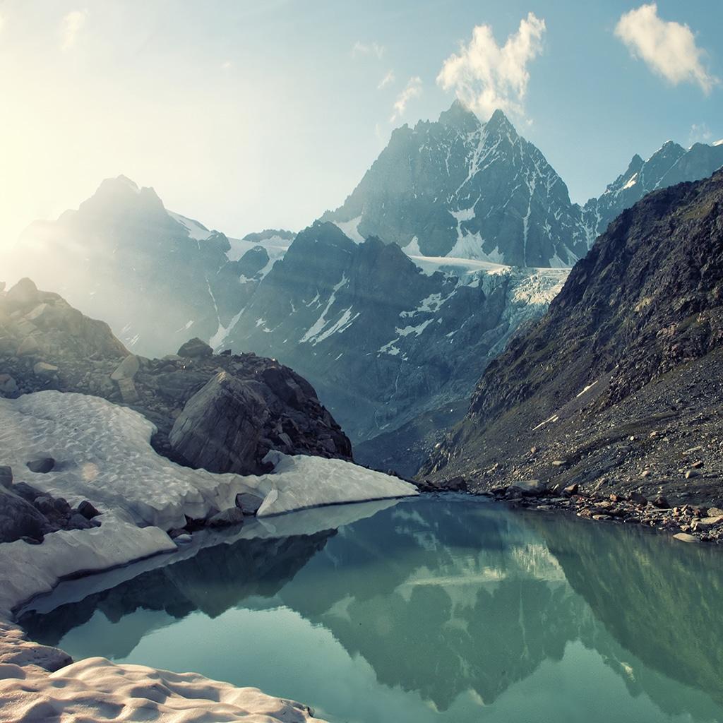Die Alpen: Winter und Sportparadies
