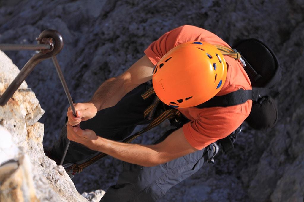 Salewa Klettersteig im Tannheimer Tal