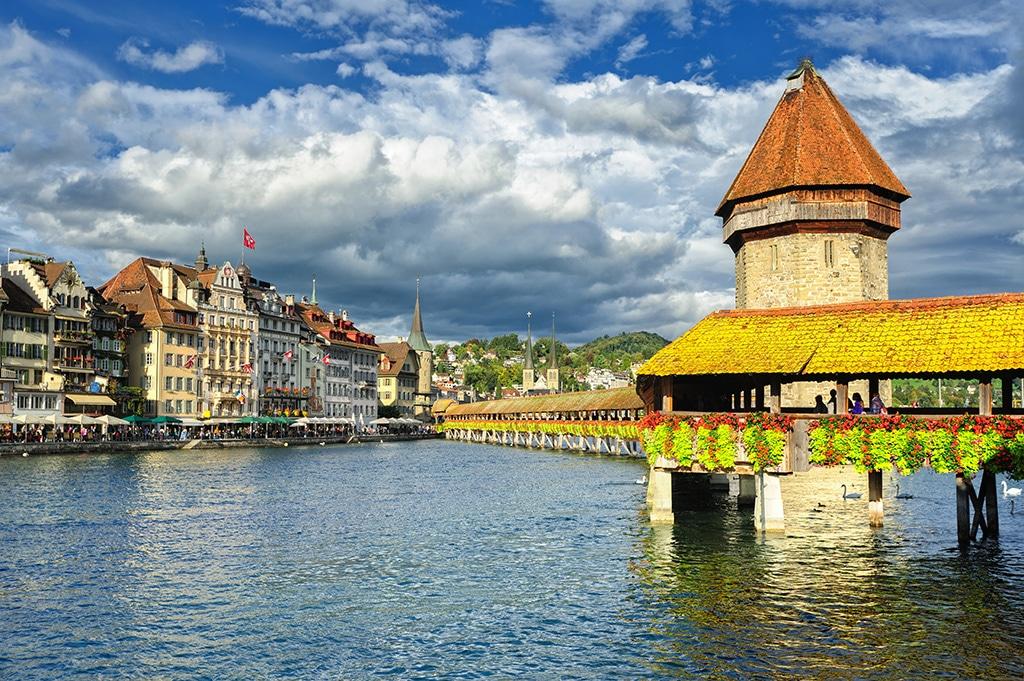Vierwaldstättersee Schweiz: Urlaub im Kanton Schweiz: Radfahren und Wandern