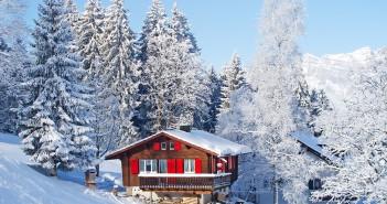 Das Rofangebirge im Winter