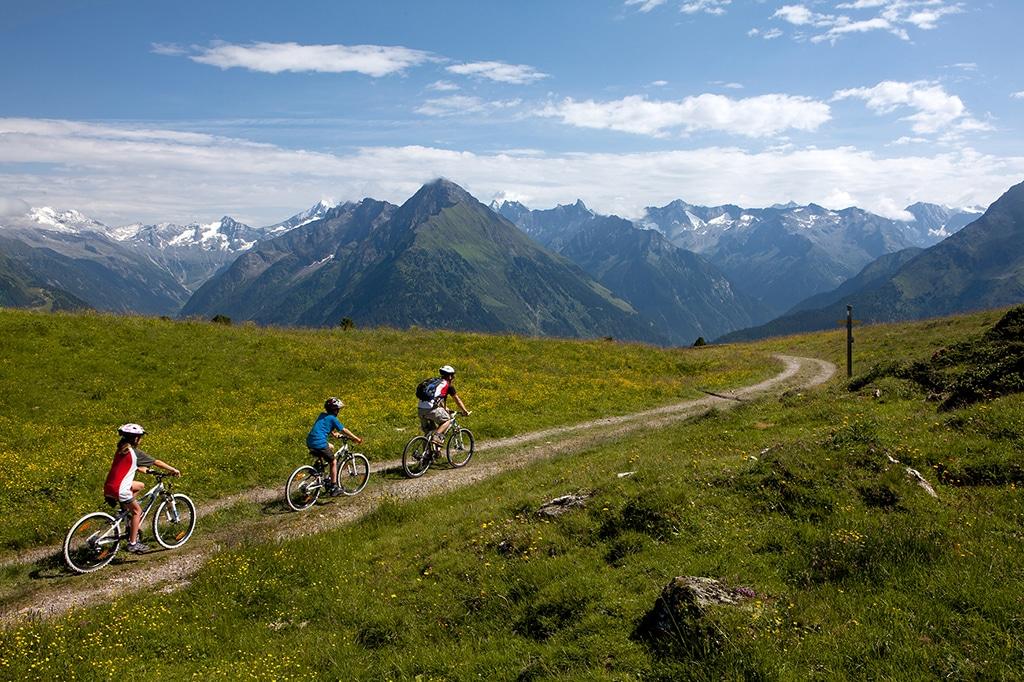 Mountainbiketouren Zillertal: Biken am Actionberg Penken