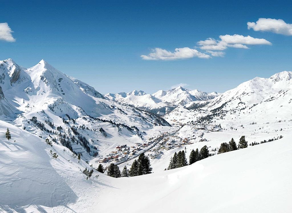 Die Schneeschüssel Obertauern