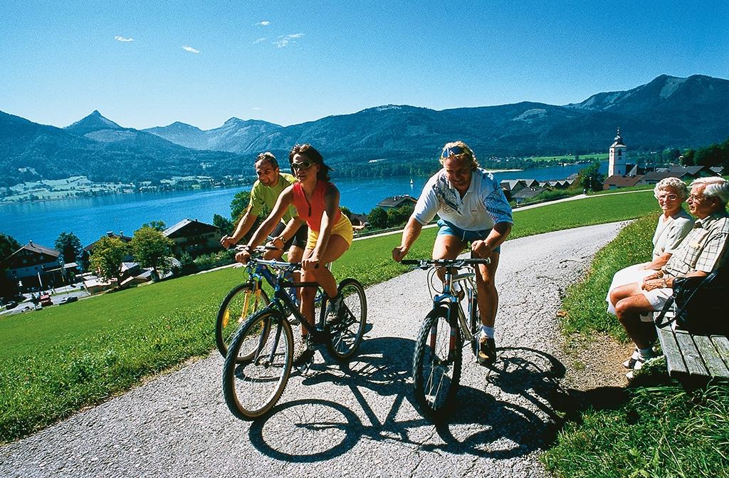 Radfahren Wolfgangsee