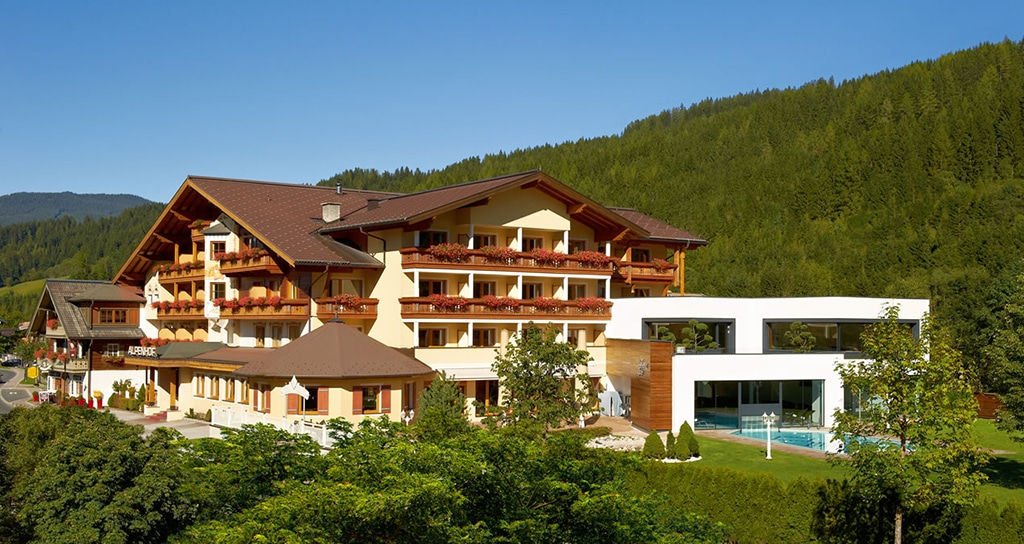 Hotel alpenhof flachau das 4 sterne superior hotel in flachau for Hotel design wellness