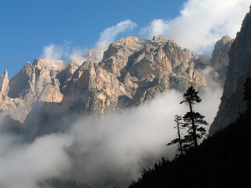 Die höchsten Berge in Deutschland stehen im Werdenfelser Land: Zugspitze und Hochwanger