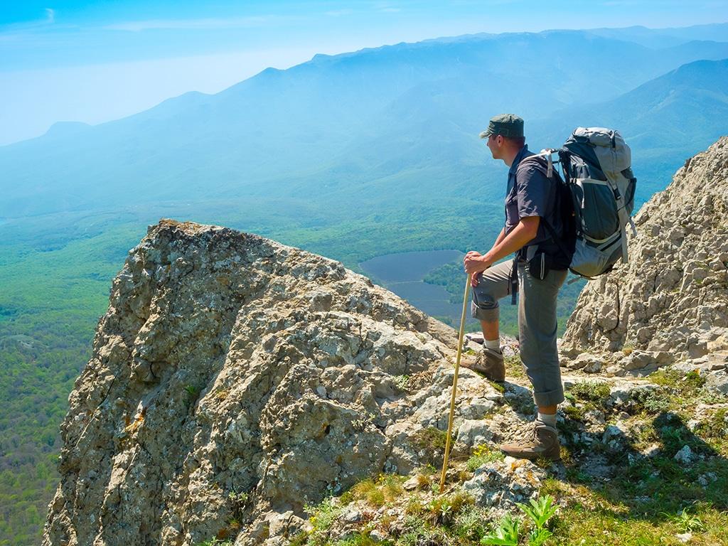 Gardasee Wandern - der Gardasee im Trentino bietet viele Traumwanderungen