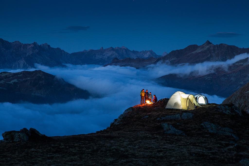 Campen im Montafon