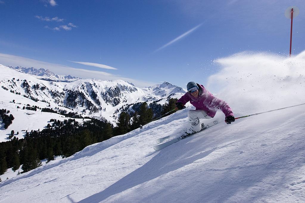 Skifahren Obereggen