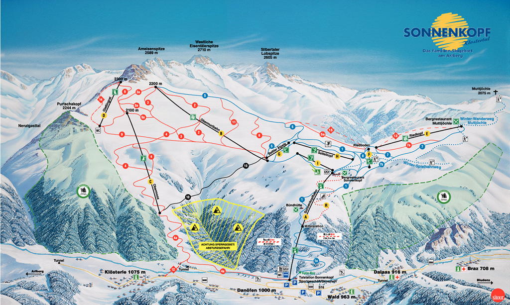 Skigebiet Sonnenkopf