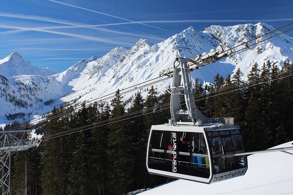 Panoramabahn Skigebiet Brandnertal