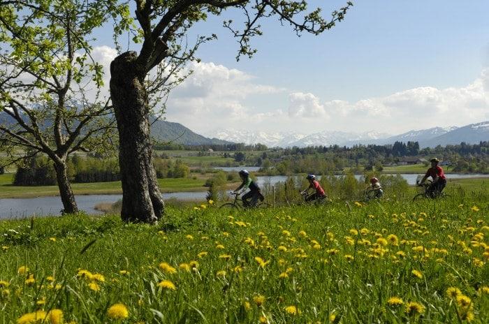 Biken im Allgäu auf der Radrunde Allgäu