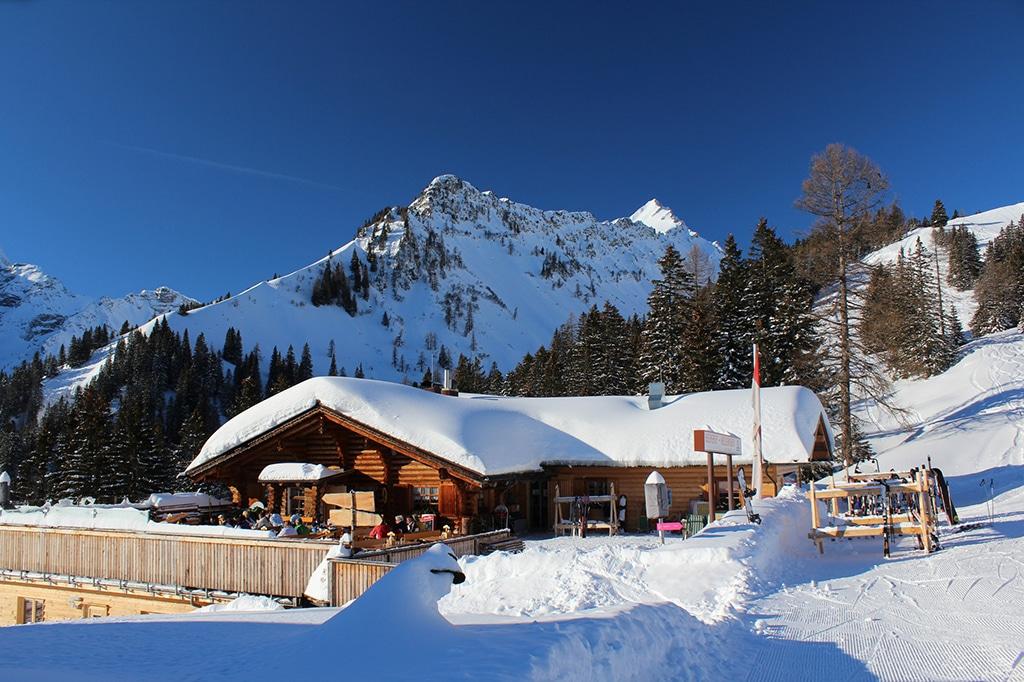 Skihütte Melkboden