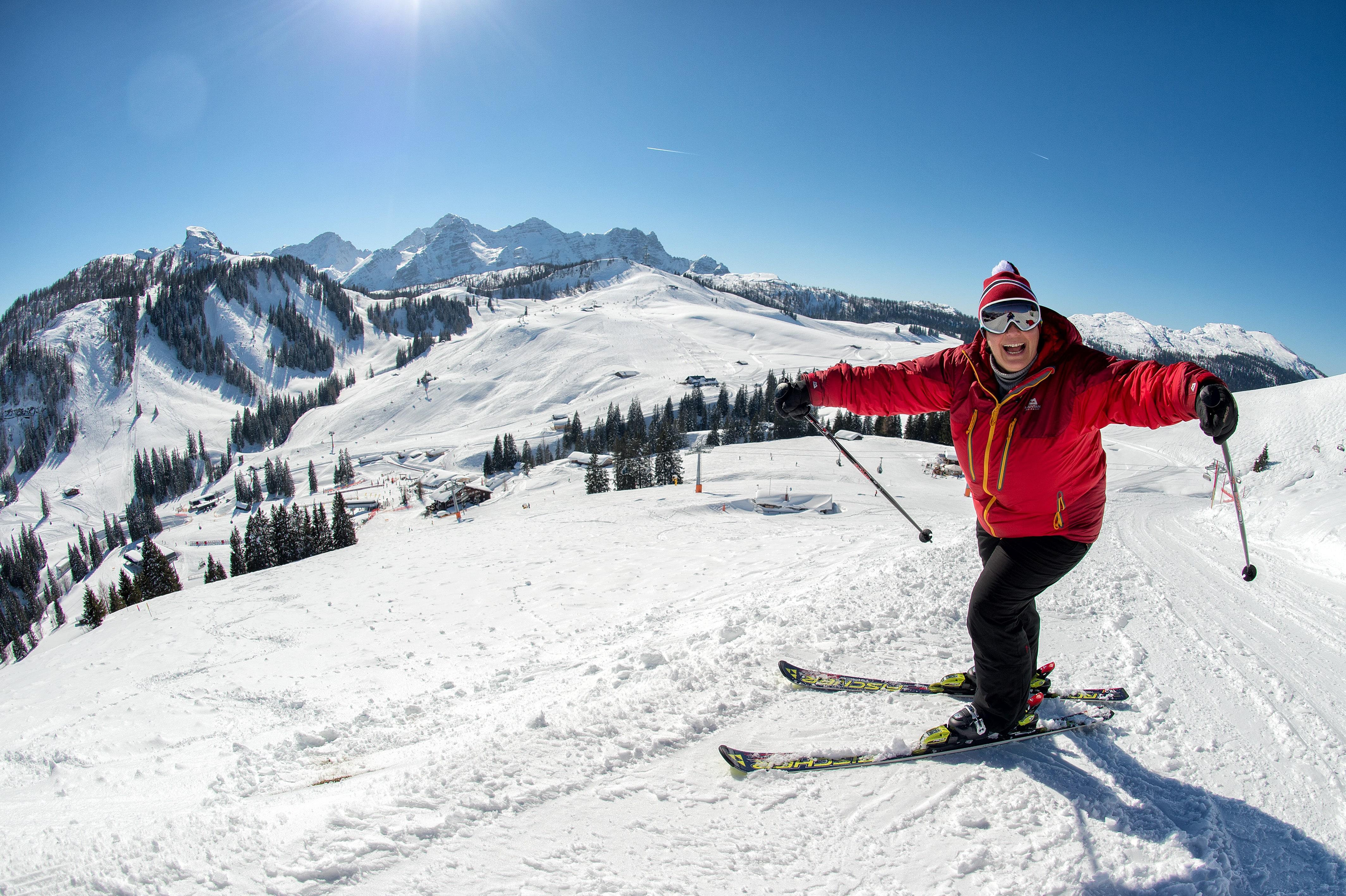 Lofer Skifahren