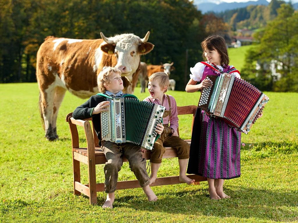 Harmonikatreffen am Wilden Kaiser