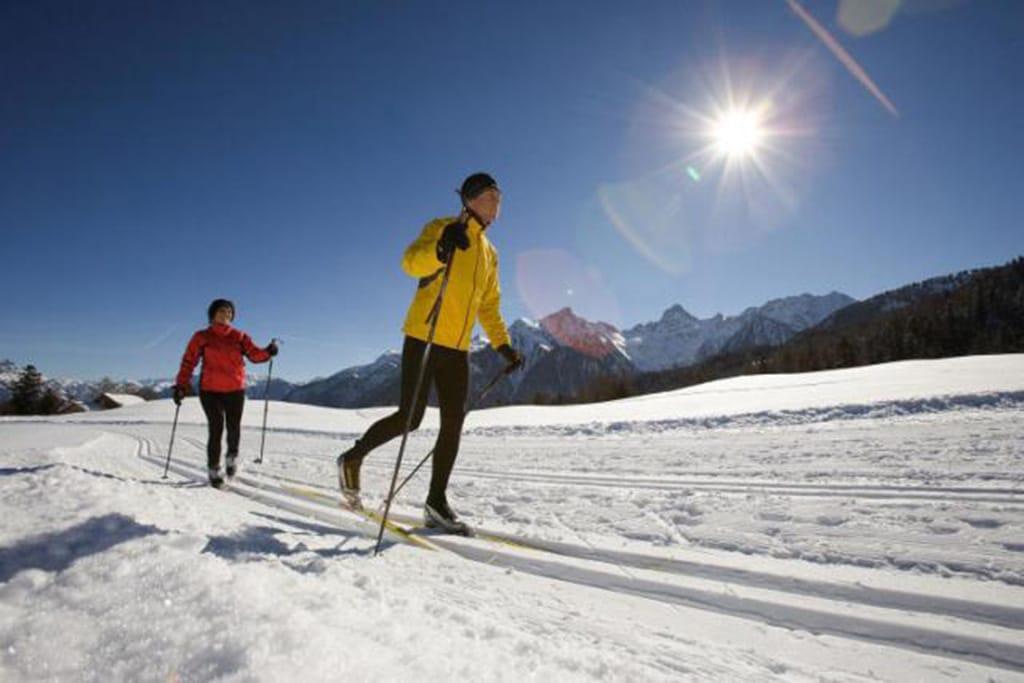 Langlaufen in der Alpenregion Bludenz bei Damüls