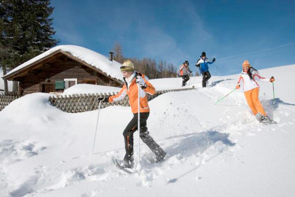 Schneeschuhwandern im Vorarlberg