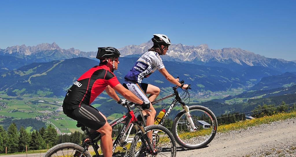 Mountainbiken in Flachau