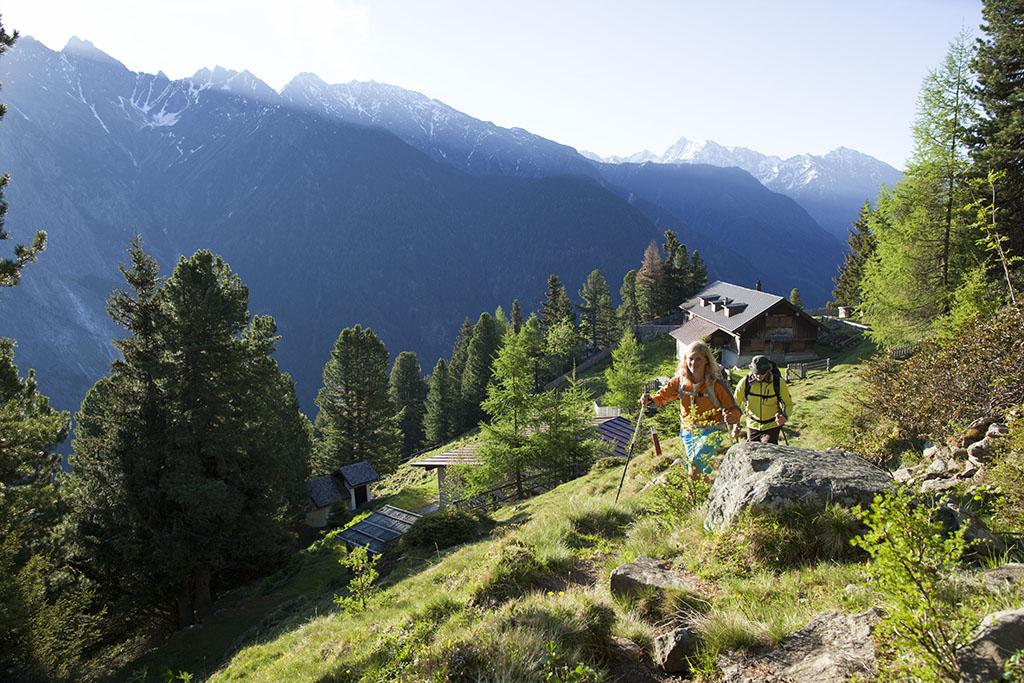 Armelen Hütte im Ötztal Tirol