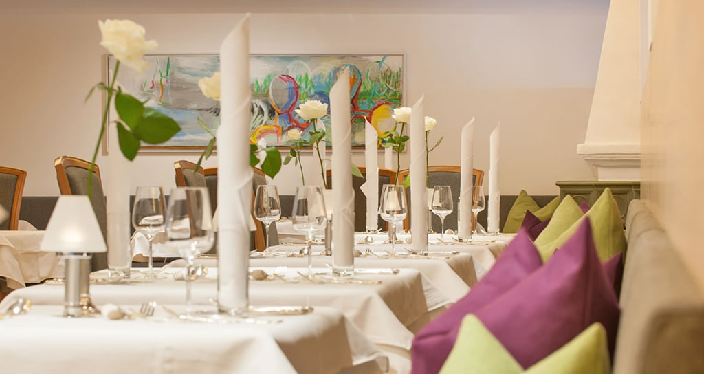 Kulinarik im Hotel Alpenhof Flachau
