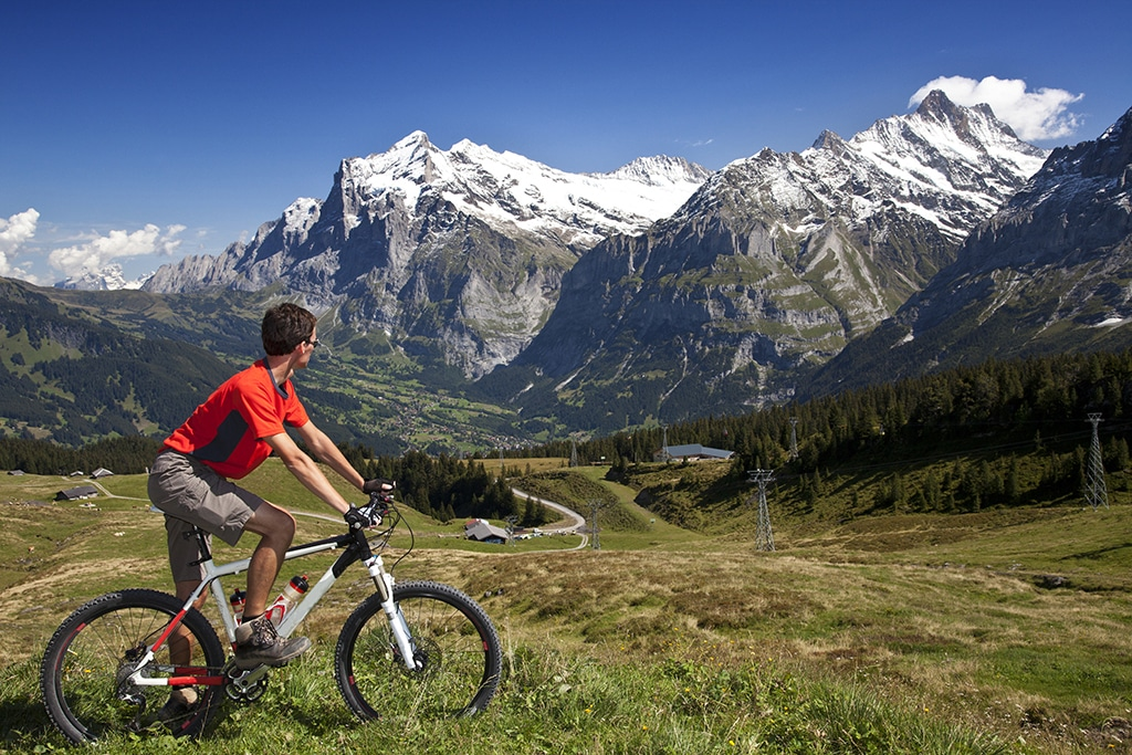Mountainbike Engadin